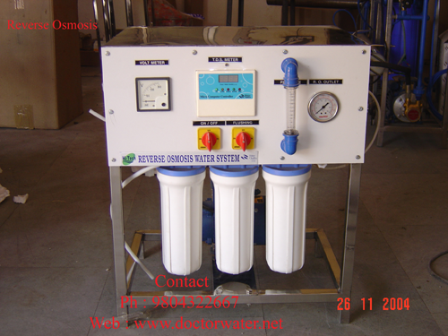 Reverse-Osmosis-plant